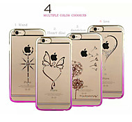 Fashion Ultra-thin Diamond Plating Bright Plastic Cover for iPhone 5/5S(Assorted Colors)
