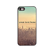 Personalized Gift The City Design Aluminum Hard Case for iPhone 5/5S