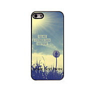 Personalized Gift You Are Strong Than You Think Design Aluminum Hard Case for iPhone 5/5S
