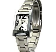Women's Ladies Alloy Watchband Quartz Watch