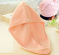 Microfiber Bath Shower Cap (Random Color)