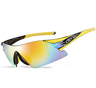 Cycling/Motorcycle Unisex 's Scratch Resistant/Polarized/100% UV400/Anti-Wind/Anti-Dust Wrap Sports Glasses