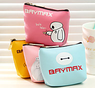 Baymax Pattern Cloth Change Purse(Assorted Color)