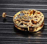 Gold automatische mechanische Uhr Bewegung