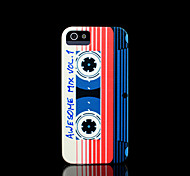 Magnetic tape Pattern Cover for iPhone 4 Case / iPhone 4 S Case