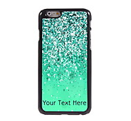 Personalized Gift Green Sand Design Aluminum Hard Case for iPhone 6
