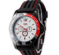 New Good Fashion Round  Mens Fashion Watch (Assorted Colors)