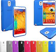 Super S-Muster-TPU weiche Tasche für Samsung Galaxy Note 4 n9100 (Farbe sortiert)
