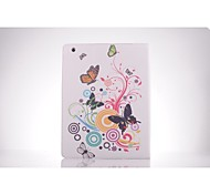 Butterfly Pattern PU Leather Full Body TPU Case with Card Holder for Ipad 2/ Ipad 3/Ipad 4