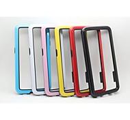 Zweifarben-pc + TPU Bumper für Samsung-Galaxie s6 (verschiedene Farben)
