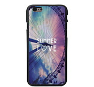Summer Love Design PC Hard Case for iPhone 6