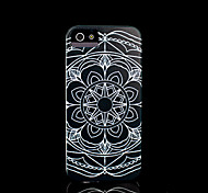 Aztec Mandala Flower Pattern Cover for iPhone 4 Case / iPhone 4 S Case