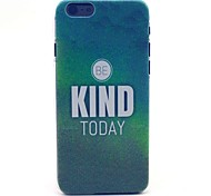 COCO FUN® Green Mist Mood Pattern Hard PC IMD Back Case Cover for iPhone 6
