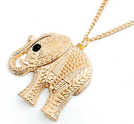HUALUO®Korean Fashion Cute Baby Elephant Necklace