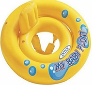INTEX® My Baby Float Thicken Swim Ring for Kids Sitting Detachable