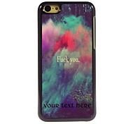 Personalized Gift Fuck You Design Aluminum Hard Case for iPhone 5C