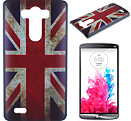 M Word Flag Pattern PC Phone Case for LG G3