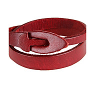Z&X® Leather Fashion Simple Leather Bracelets Party/Daily/Casual 1pc