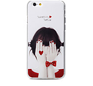 Cute Cartoon  pattern transparent tpu soft Cover case For Apple iPhone 5S Case