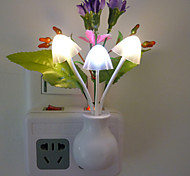 Creative Chrysanthemum Spend Control Sensor Night Light Colorful Led Wall Lamp