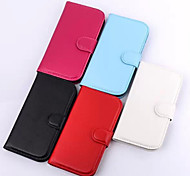 New Litchi Grain Fashion Mobile Phone Sets for Samsung S4 Mini(Assorted Colors)
