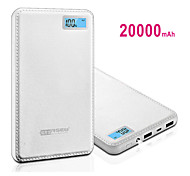 RSEB 20000mAh LCD Display Portable Power Bank for iPhone6/6 Plus/Samsung Note4/Sony/HTC and other Ipad Note