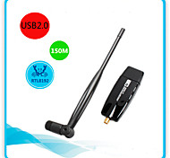 Rtl8192 300M Wireless Card Wireless Receiver Usb Power Wifi Wireless Network Card