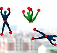 (5 PCS)Superman Spiderman Climbing Viscosity (Random Color)