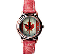 The national flag of the fashion watch China USA Canada XINZHEGUOQIBIAO