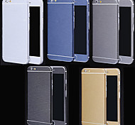 Full Body Side+Top+Back+Button Metal Slim Decal Skin Sticker for iPhone 6 Plus(Assorted Colors)