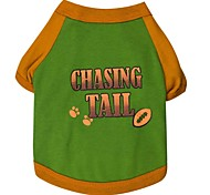 """Cute """"CHASING TALL"""" Pattern with Footprints Wholesale for Pets Dogs (Assorted Sizes)"""