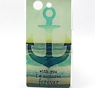 Sea Ship Anchor Pattern TPU Soft Case for Sony Xperia Z3 Mini
