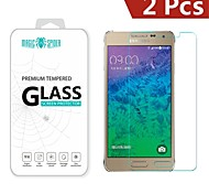 Magic Spider®0.2mm 2.5D Private Brand Damage Protection Glass Screen Protector for Samsung Galaxy Alpha 850 (2PCS)