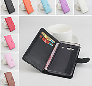 Protective PU Leather Magnetic Vertical Flip Case for Xiaomi RedMi 2(Assorted Colors)