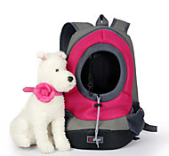 Cat / Dog Carrier & Travel Backpack Pet Baskets Portable / Breathable Green / Blue / Pink / Yellow Nylon