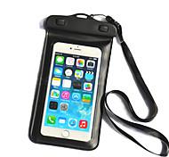 bolsa de natación 20m teléfono del bolso del teléfono impermeable con cordón para el iphone 6 / 6plus / 5 / 5s / 5c y otros (colores surtidos)