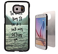 het moeilijkste wat design aluminium koffer voor Samsung Galaxy s6