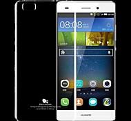 schwarz pomelo® transparente Licht Fall für Huawei p8 lite