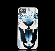 Lion Pattern Cover for iPhone 4 Case / iPhone 4 S Case