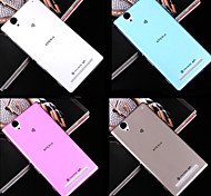 Ultrathin 0.3mm Transparent TPU Soft Cover Case for Sony Xperia T2 Ultra (Assorted Colors)