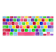 "JRC Seven Candy Color Silicone Keyboard Cover Skins for Macbook Air 13"",Retina 13"" 15"""