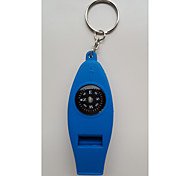 """Four in One"" Multi-Function Compass /Whistle/Thermometer/Magnifying Glass"