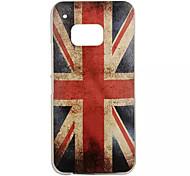 UK Flag Special Design Cover Back Case Plastic for HTC  M9