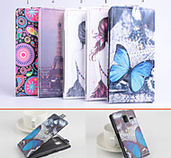 Protective PU Leather Magnetic Vertical Flip Case for Lenovo S580(Assorted Colors)