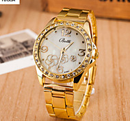 Lady'S Quartz Alloy, Switzerland Watch Fashion Tower Steel Band Watch