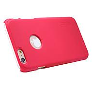 ivso eccellente glassato caso scudo di alta qualità con la protezione dello schermo per iphone 6 più del telefono da 5.5 pollici (rosso)