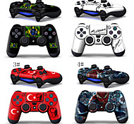 Skins Decal Cover for Sony Playstation 4 Wireless Controllers Two(2) Decals
