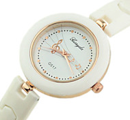 Women's Fashionable Style Plastic band Musical Note Dial  Quartz Bracelet  Wrist Watch Cool Watches Unique Watches