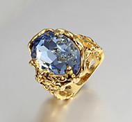 z y x® 18k oro circón de moda anillos declaración del partido / al día