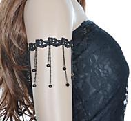Vintage Ghthic Long & Short Tassel  Bead Bracelet